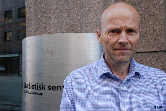 Forsker Bjart Holtsmark i Statistisk sentralbyrå (SSB).