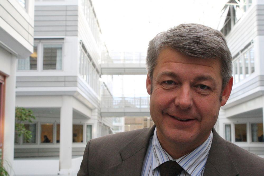 PÅ HODEJAKT: Sjef for konsulentvirksomheten i IBM Norge, tidligere moderniseringsminister Morten Andreas Meyer.