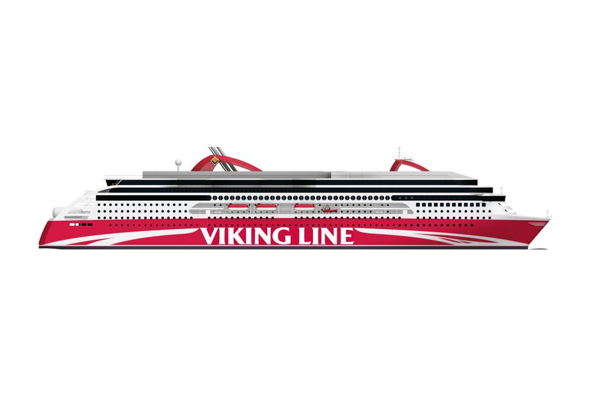 GASS: Viking Line vil bruke gass på sin nye Østersjøferge som skal gå mellom Åbo og Stockholm fra 2013. STX Finland starter bygging i 2011.