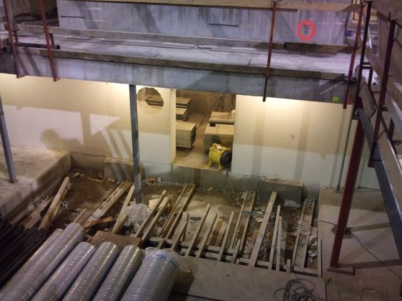 KUN TEKNISK: Konserthuset får ingen kjeller til ordinær bruk, kun tekniske installasjoner får plass under bakken.