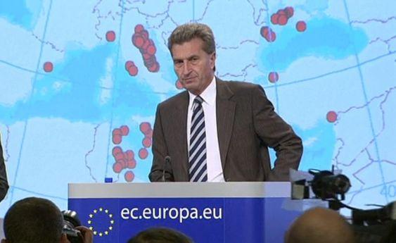 Energikommisær Günther Oettinger