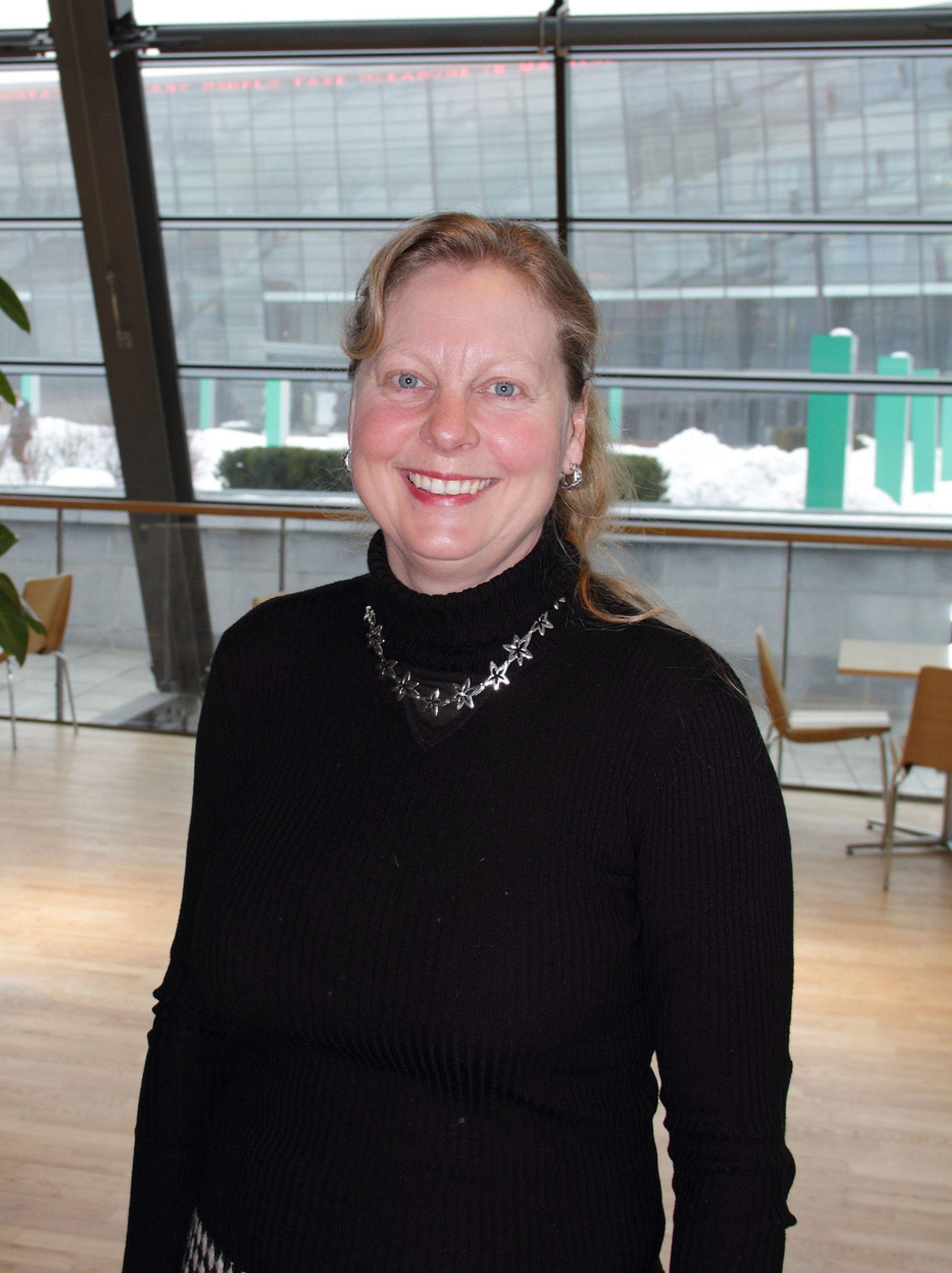 EN STOR DAG: Adm. direktør i Telenoreide Conax, Berit Svendsen er svætt fornøyd med den nye TiVo-avtalen som kan bringe Conax opp i en helt ny divisjon.