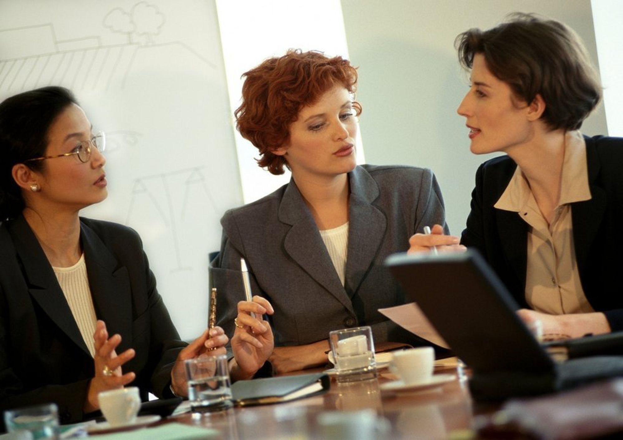 MÅ OPPFORDRES: - Det er mange kvinnelige mellomledere. Kvinner må oppfordres til å ta lederposisjoner for å se at det er mulig, sier Anne Marie Kittelsen i Innovasjon Norge.