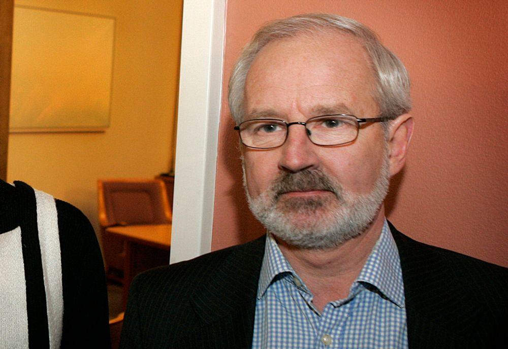 KREVER AVGJØRELSE: Venstres Gunnar Kvassheim mener det er en skandale hvis Enova ikke tar en avgjørelse om hvilke vindparker som får støtte før sommeren.