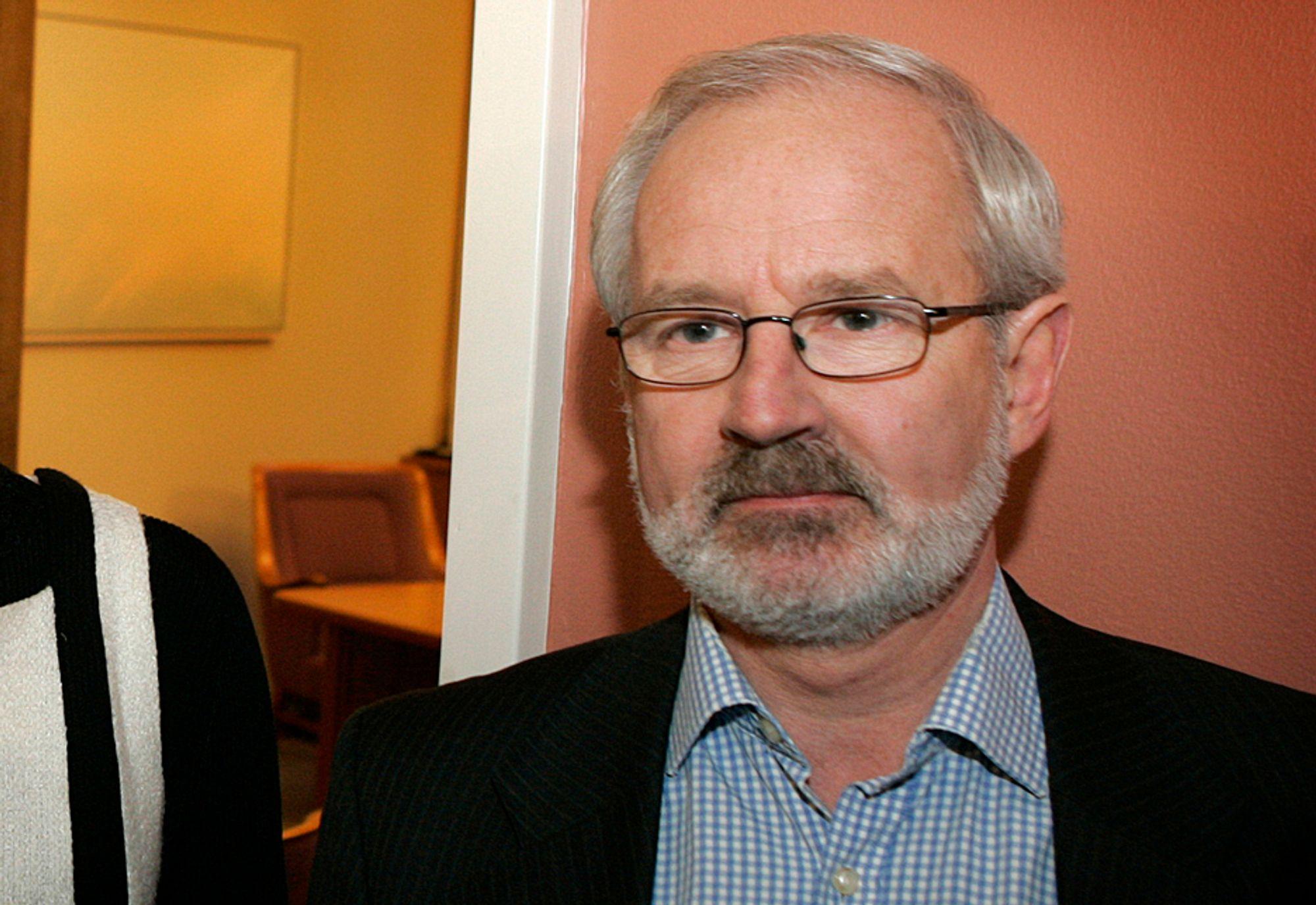 BYTTER: Gunnar Kvassheim går fra Stortinget til Lyse.