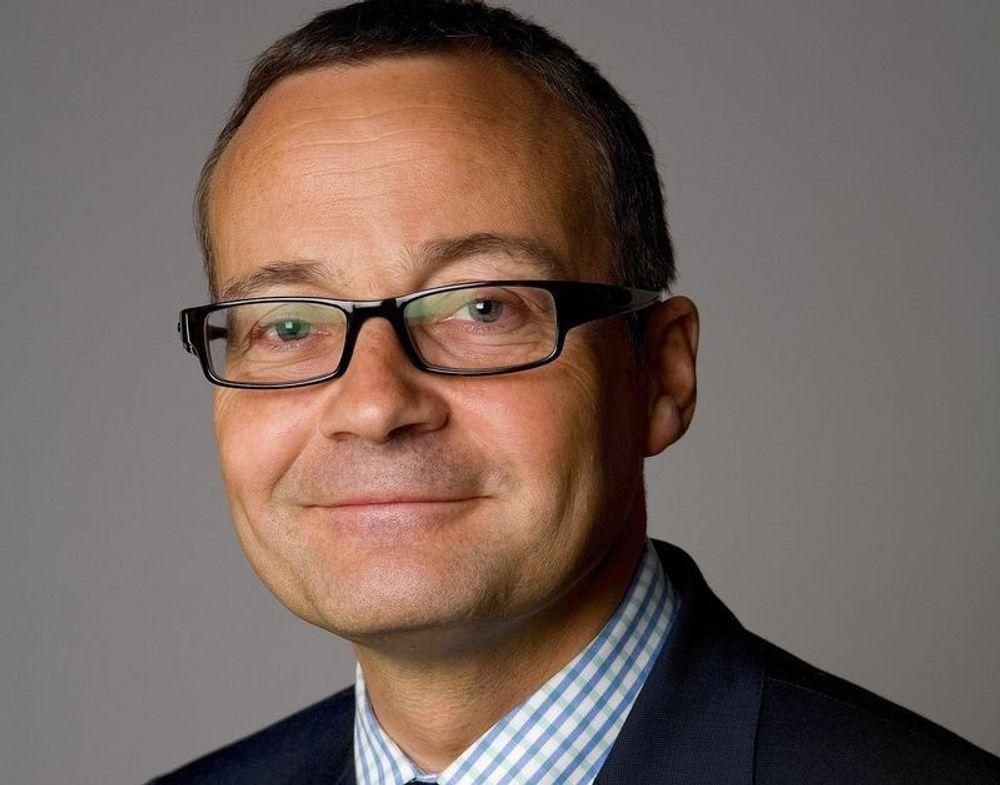 STORT ANSVAR: Rasmus Sunde tar over ledelsen av Norges største bedrift for undervannutstyr FMC Kongsberg Subsea 1. juni.