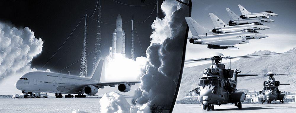 Airbus A380, Ariane 5, Eurofighter Typhoon og Eurocopter EC225 er blant de mest kjente maskinene som EADS-konsernets datterselskaper produserer.