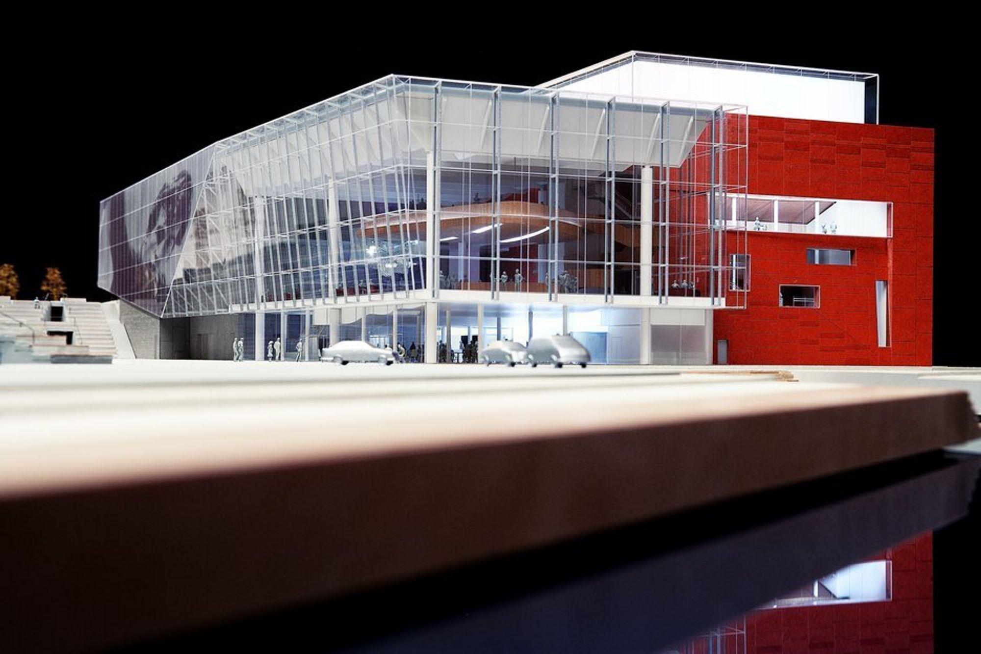 STORSTUE: Stavangers nye konserthus blir et gigantprosjekt til 1,225 milliarder kroner.