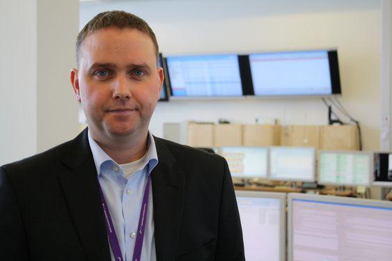 Driftssjef for nødnettet ved Nokia Siemens Networks, Torbjørn Krøvel.