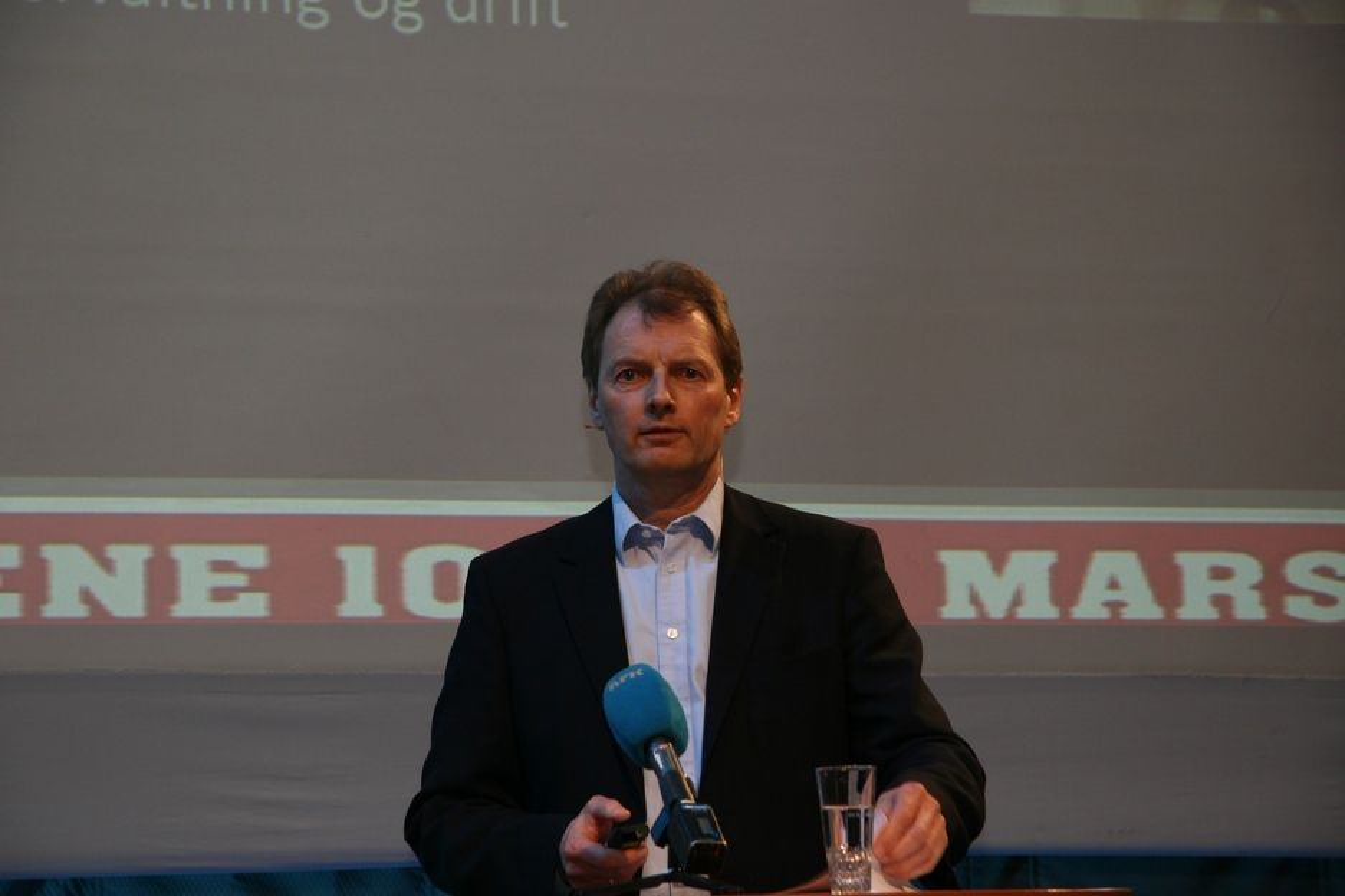 VIL IKKE: Øyvind Mork, styreleder i Rådgivende Ingeniørers Forening traff spikeren på hodet: slik vi har det nå vil vi ikke ha det. Det må investeres mer i vedlikehold.