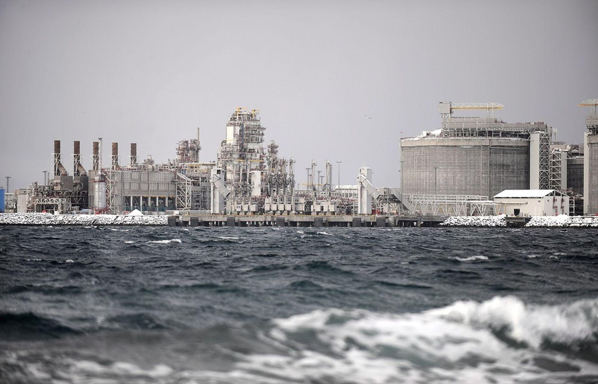 MELKØYA: CO2 strømmer ikke som forventet gjennom reservoaret på Snøhvit.