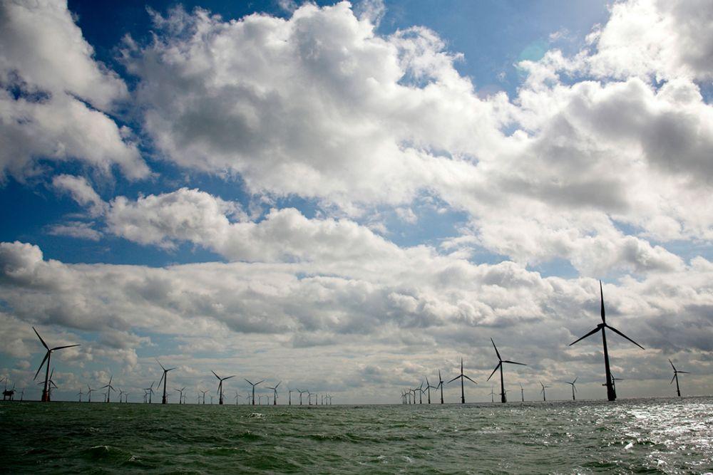 Finansdepartementet lar sjansen gå fra seg til å la Norge ta en posisjon på markedet for teknologiutvikling av offshore vindkraft, mener spesialrådgiver Tor Mühlbradt i Innovasjon Norge. (Foto: Vattenfall)