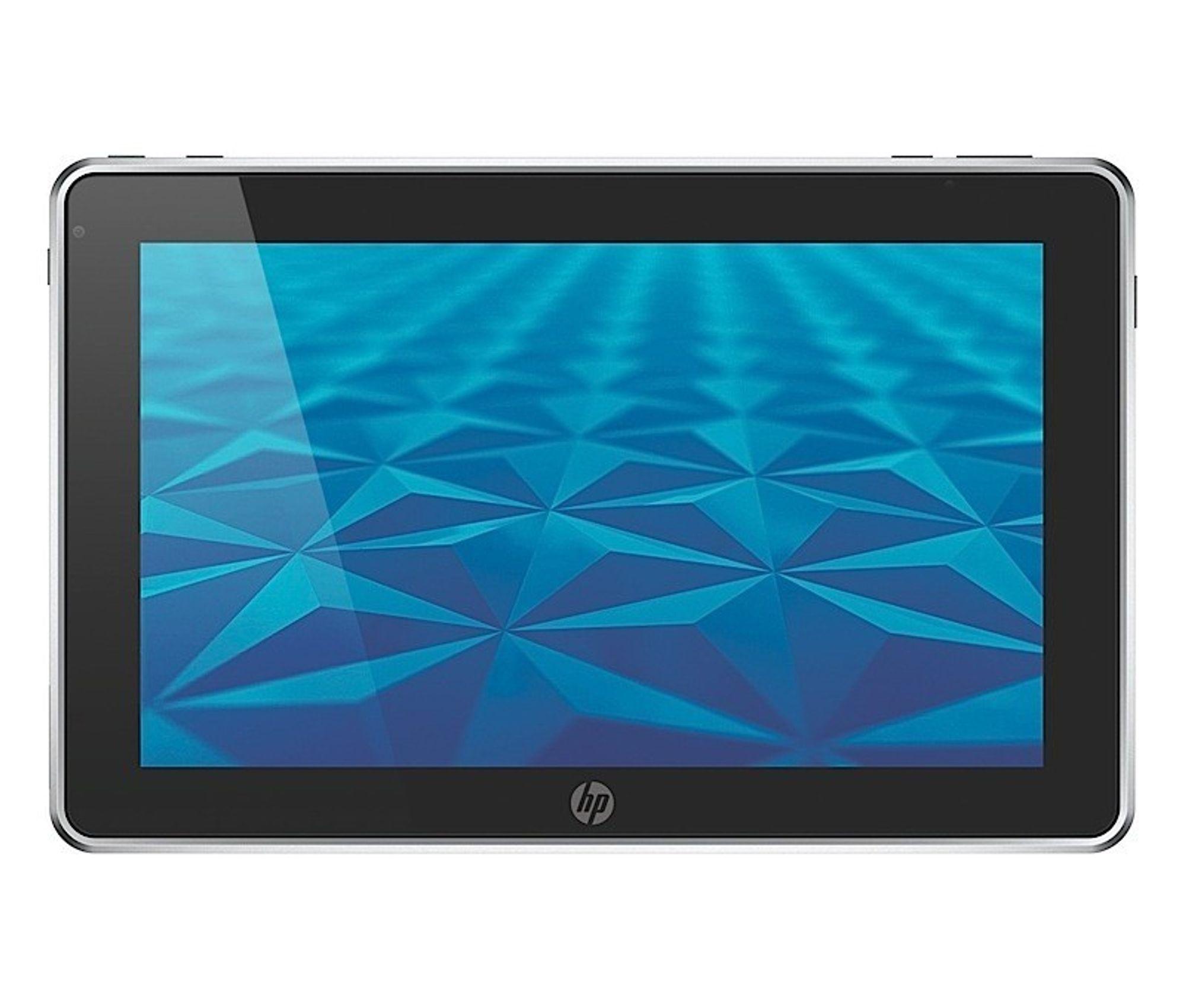 HP Slate er et nettbrett på 8,9 tommer ment for businessmarkedet.