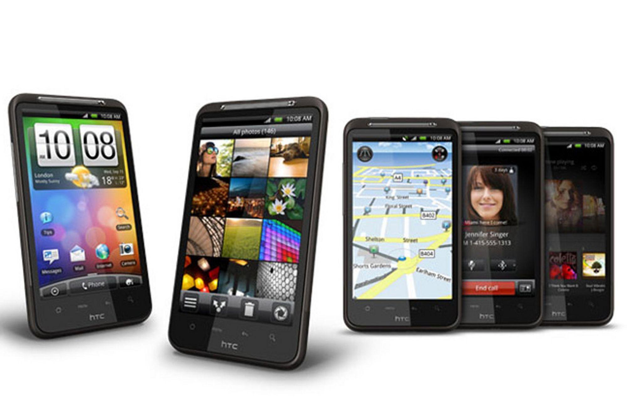 HTCs nye Desire 2 vil komme med kart fra TomTom.