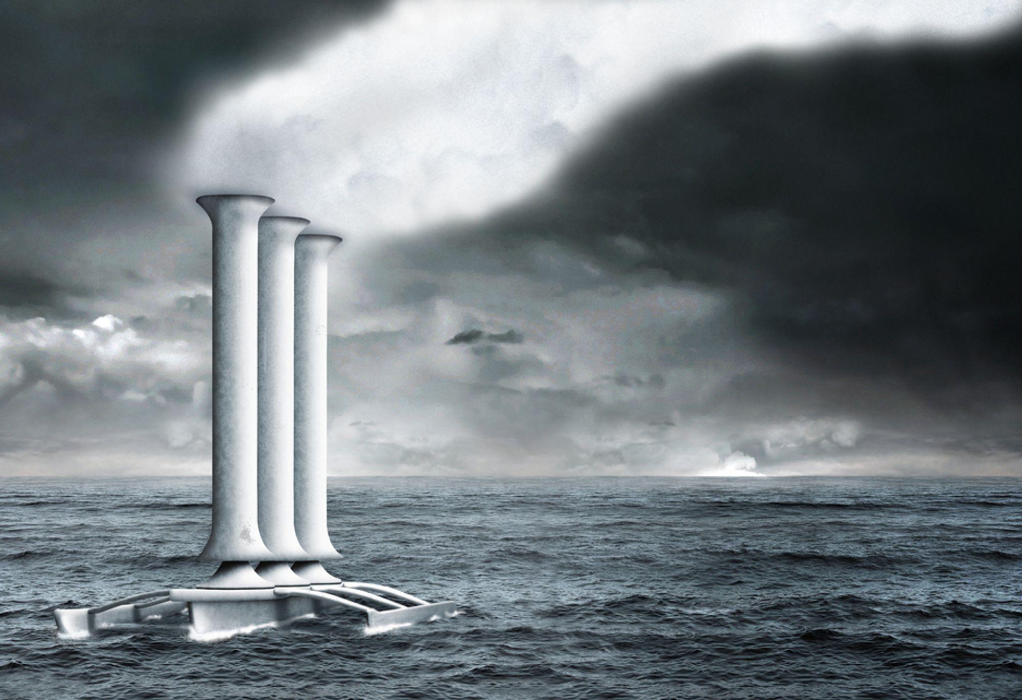 KLIMAMANIPULERING: Det å gjøre skyer hvitere er ett av mange klimatiltak, blant annet foreslått av danske Bjørn Lomborg. Britiske Royal Society mener dette tiltaket kan påvirke nedbørsmønstrene over land på en uheldig måte.