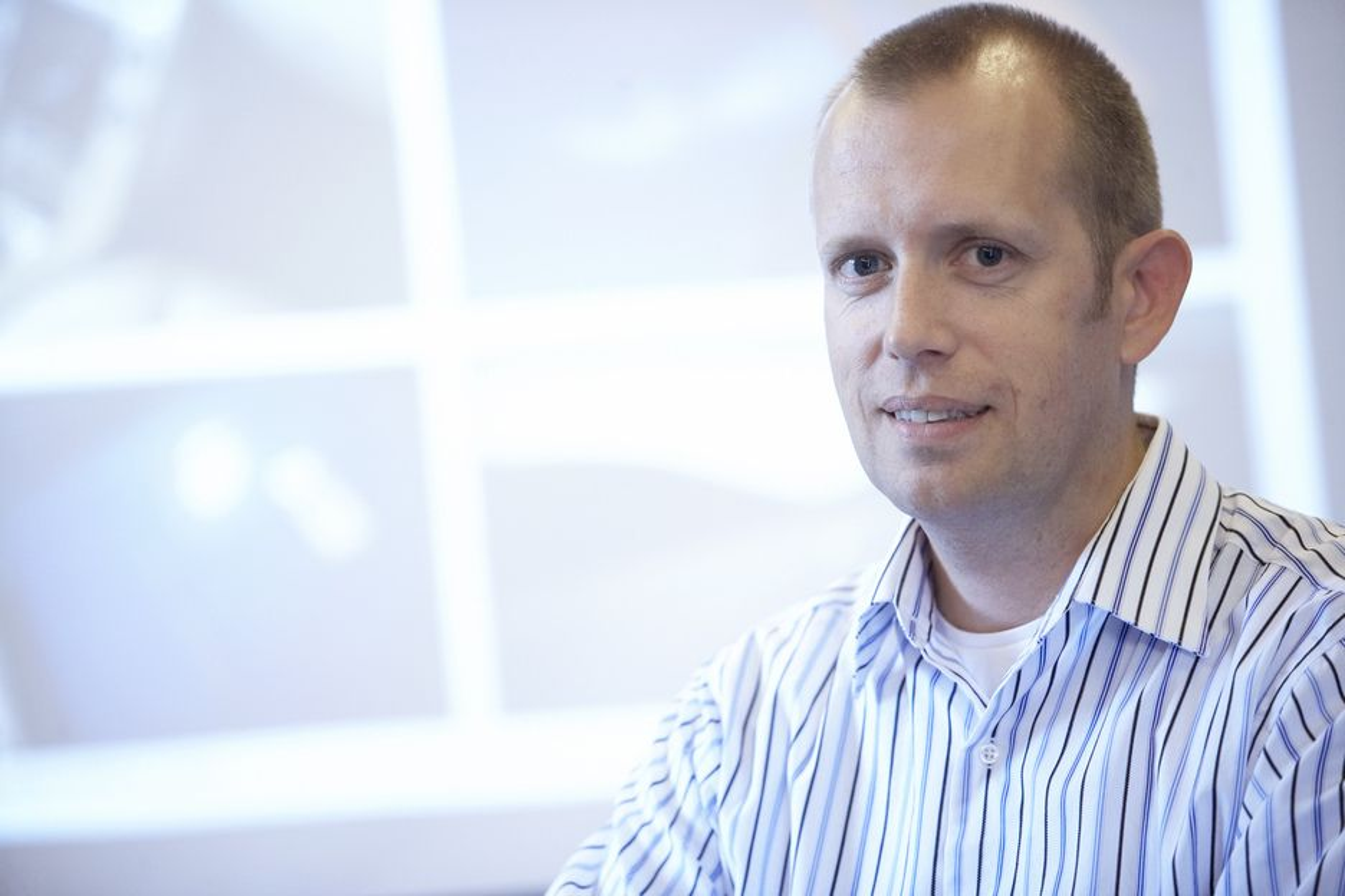 Ivar Haug i Kongsberg Automotive er styreleder i det nye kunnskapsbaserte utviklingsforumet. Onsdag og torsdag denne uken arrangerer de sitt første seminar.