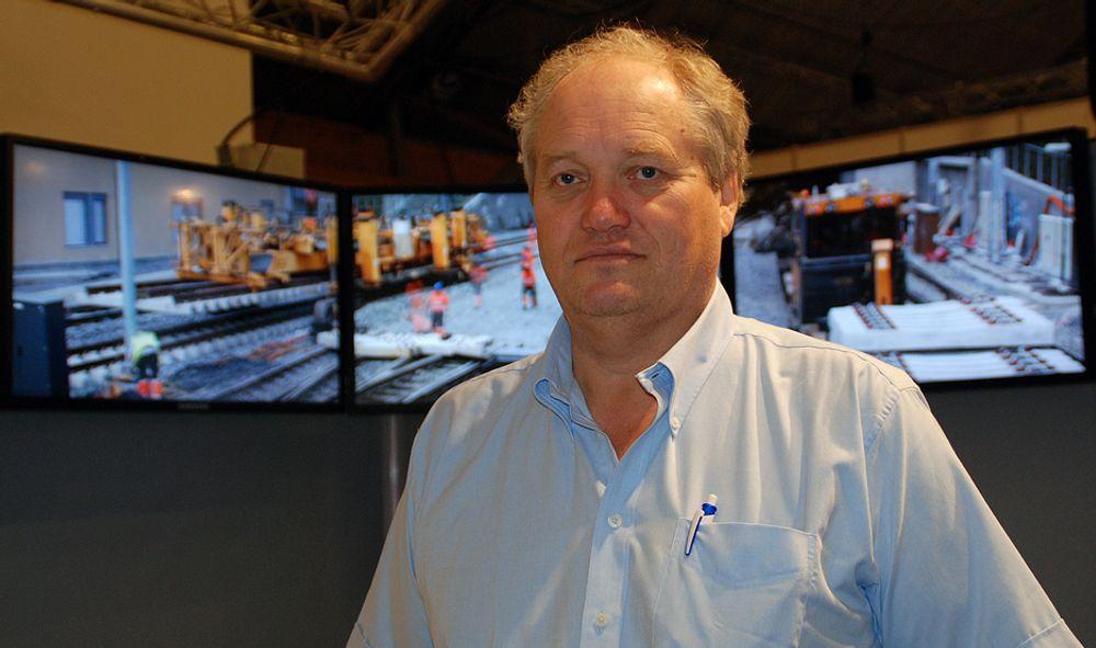 EKSTERN HJELP: Lars Skålnes i Baneservice har søkt ekstern hjelp for å få orden på sikkerheten i selskapet. Han ønsker ikke å opplyse hvilket selskap som nå bistår.