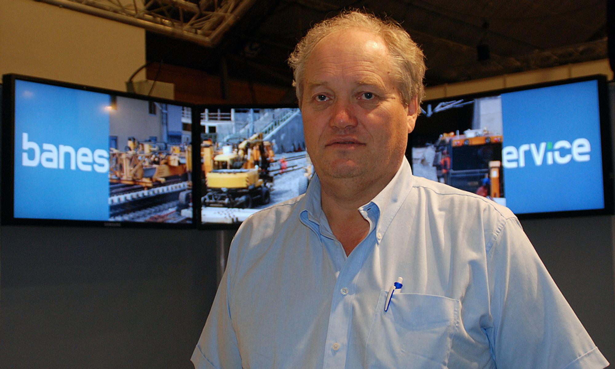 - Vi tar sikkerheten alvorlig. Vi tar det tilsynet har funnet til etterretning, og går igjennom vårt system, sier administrerende direktør i Baneservice, Lars Skålnes.