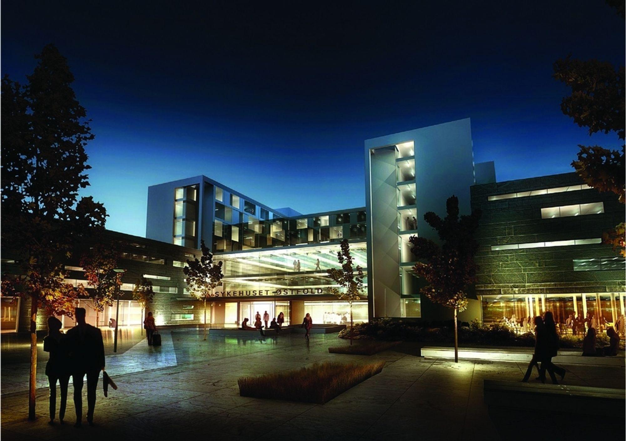SAMARBEID: Nytt Østfoldsykehus inkluderer en rekke av både rådgivere og arkitektkontorer.