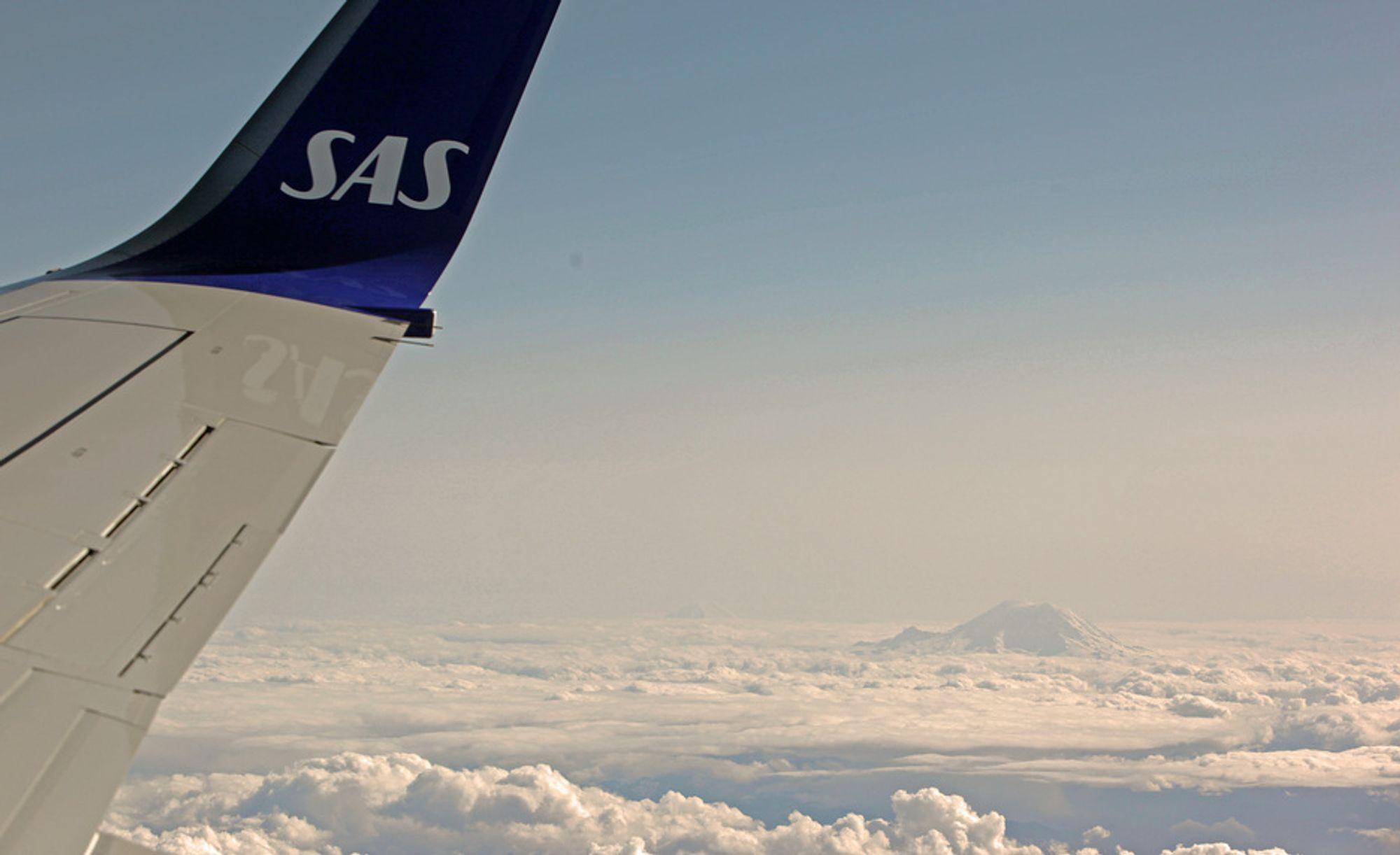 Også lave konsentrasjoner av vulkanaske kan gjøre skader på flyskrog og -motorer, advarer Airbus. Dette flyet er laget av Boeing (illustrasjonsfoto).