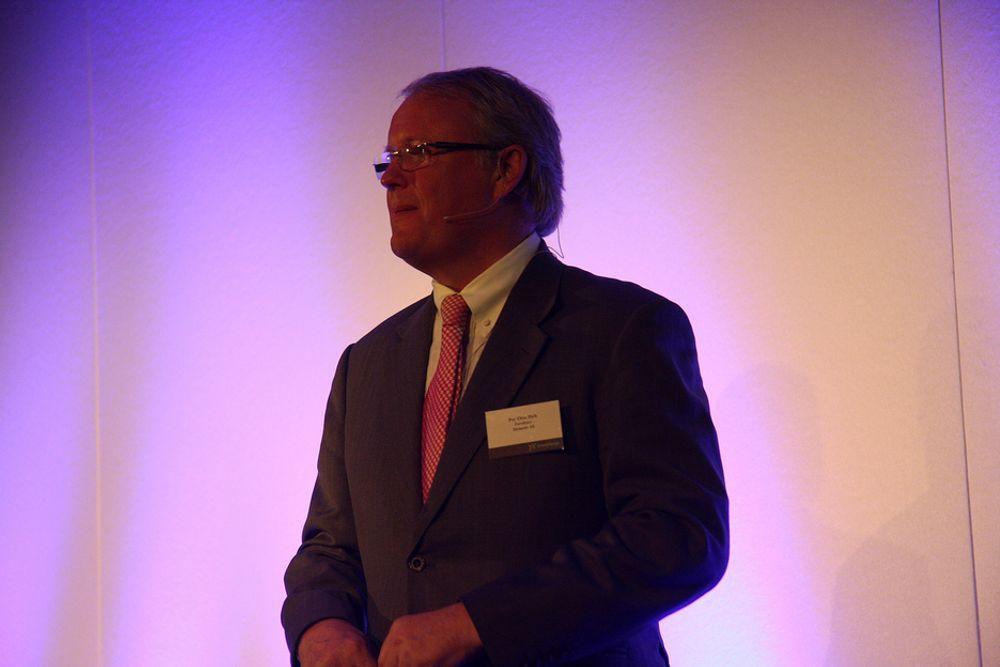 LYSENDE UTSIKTER: Per Otto Dybh, adm. direktør i Siemens AS mener at Norge kan blir Europas stabiliserende energinasjon.