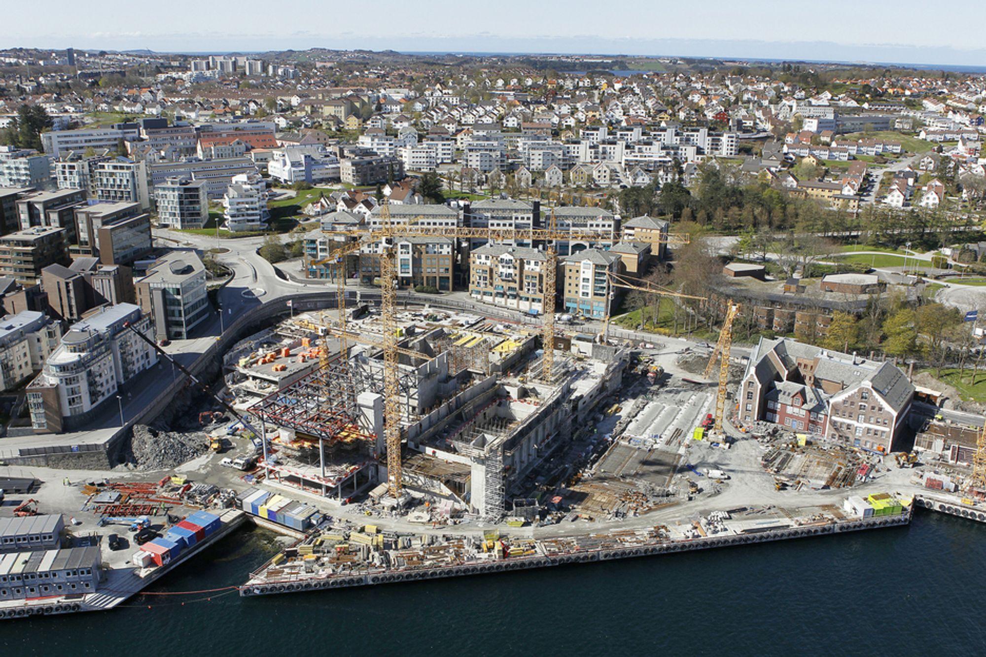 NYTT KONSERTHUS: Her skal det nye konserthuset i Stavanger ligge.