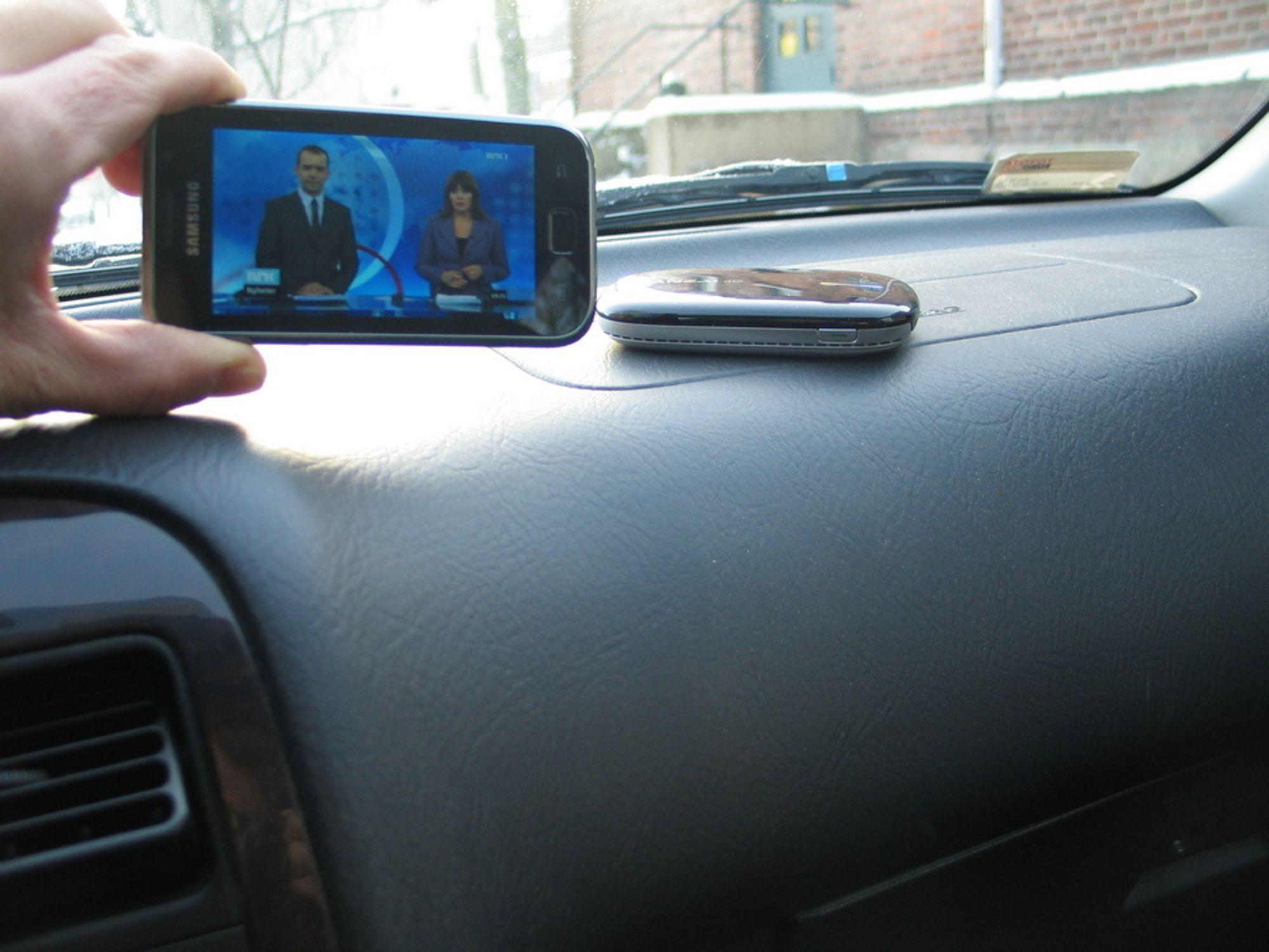 TV: Mobilt bredbånd fra Banzai gir et bedre bilde på tv-streaming enn ordinært mobilt bredbånd, men dekningen er ikke like god.