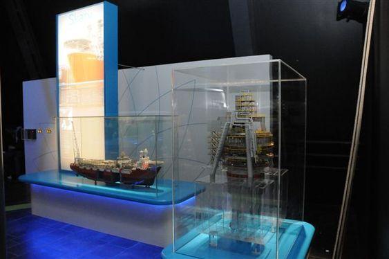 BP-utstilling på Oljemuseet i Stavanger.