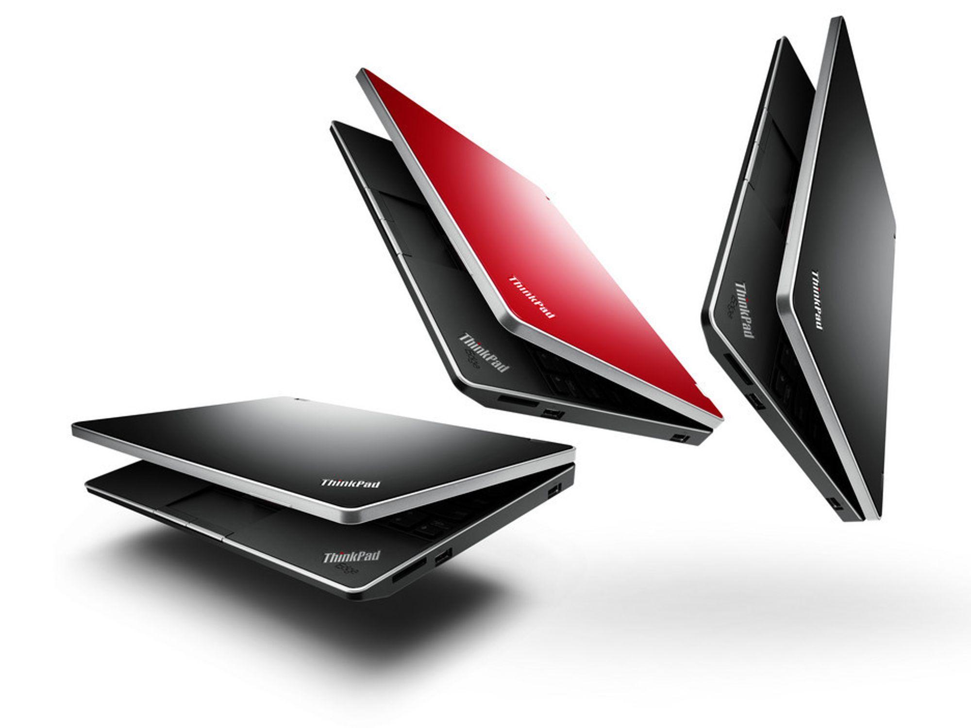 Nye ThinkPad Edge 11 er bare 2,8 centimeter tykk og veier 1,3 kilo...med det minste batteriet, riktignok.