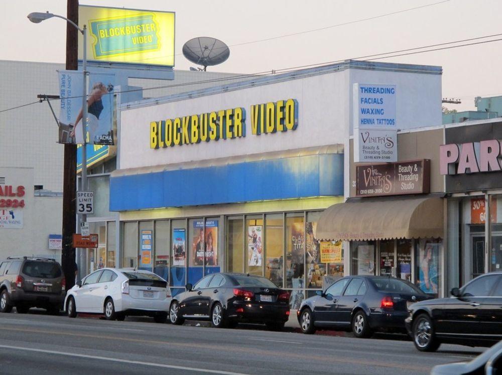TRUES: Blockbuster Video holder 3000 butikker åpne i håp om fortsatt drift. Konkursspøkelset truer.