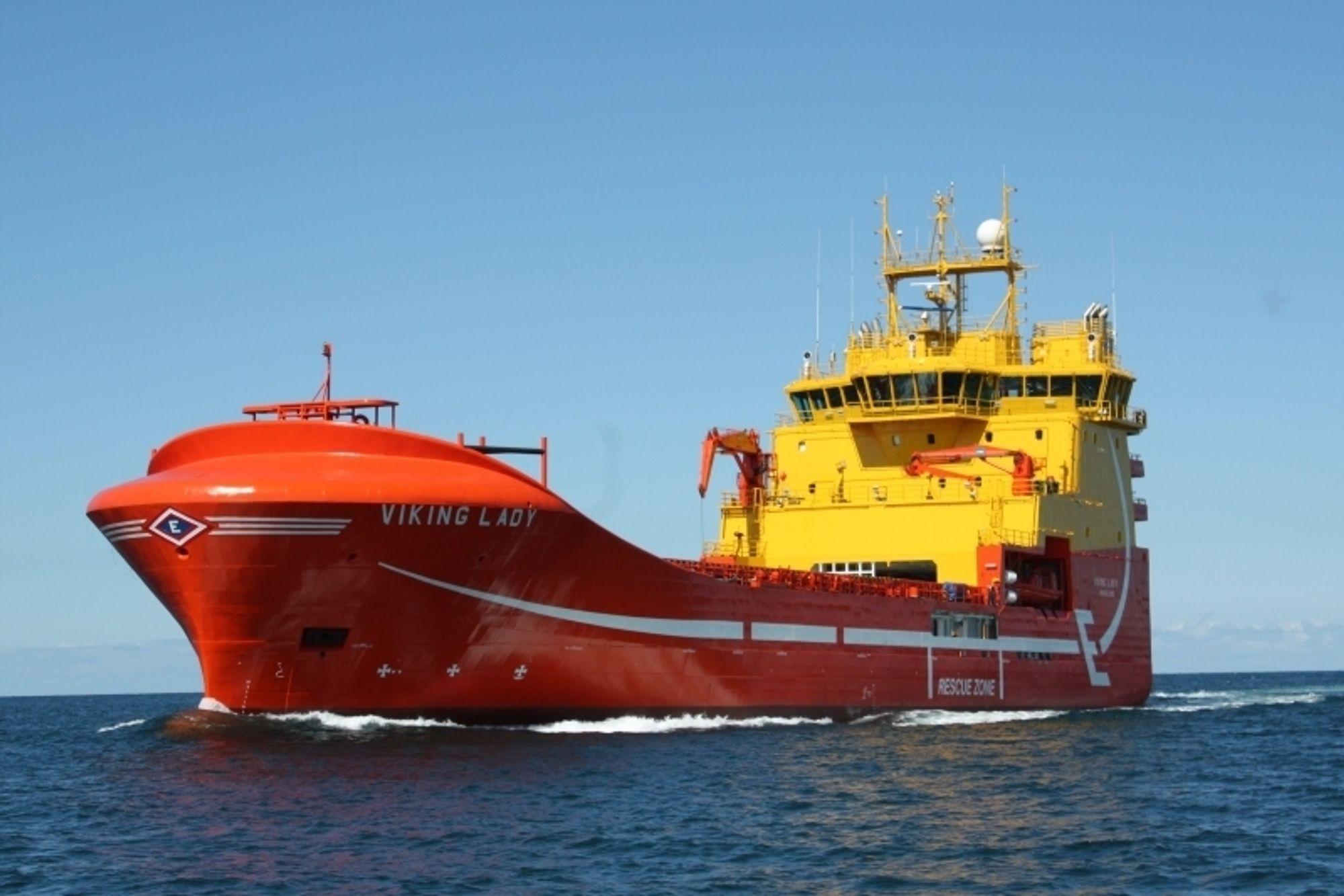 Viking Lady går på naturgass og har installert en 320 kW brenselcelle. Kraften fra cellen går inn på skipets elektriske system og gir et lite bidrag.
