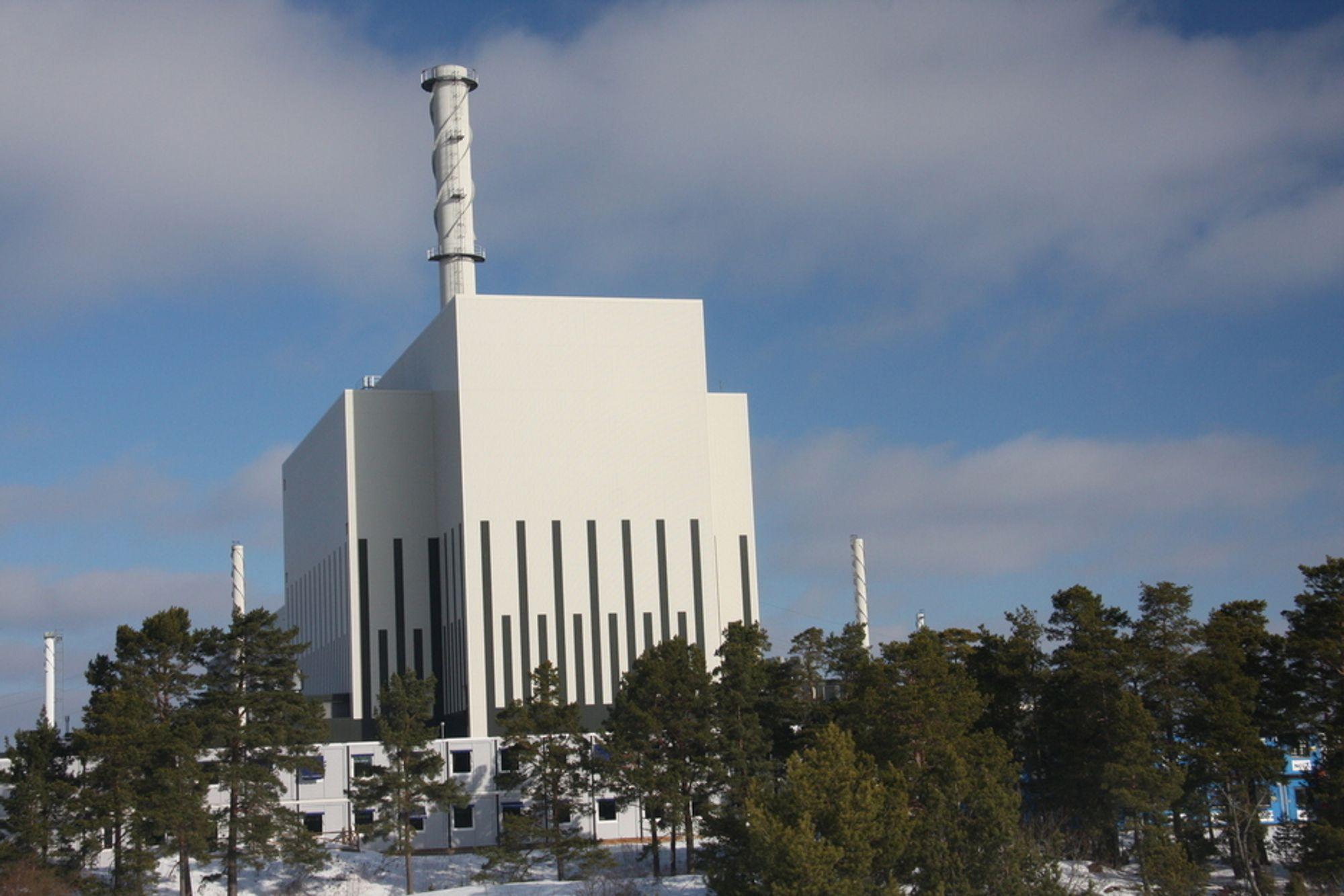 ANSTRENGT: Norge vil også i vinter  bli avhengig av svensk kjernekraft. I dag er 2,5 svenske reaktorer ute av drift.