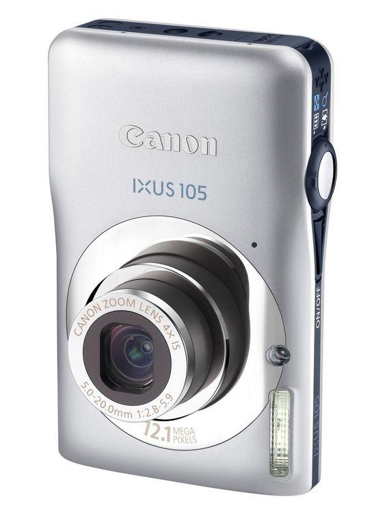 SLITER MOT MOBILENE: Canon IXUS 105 og andre kompaktkameraer.