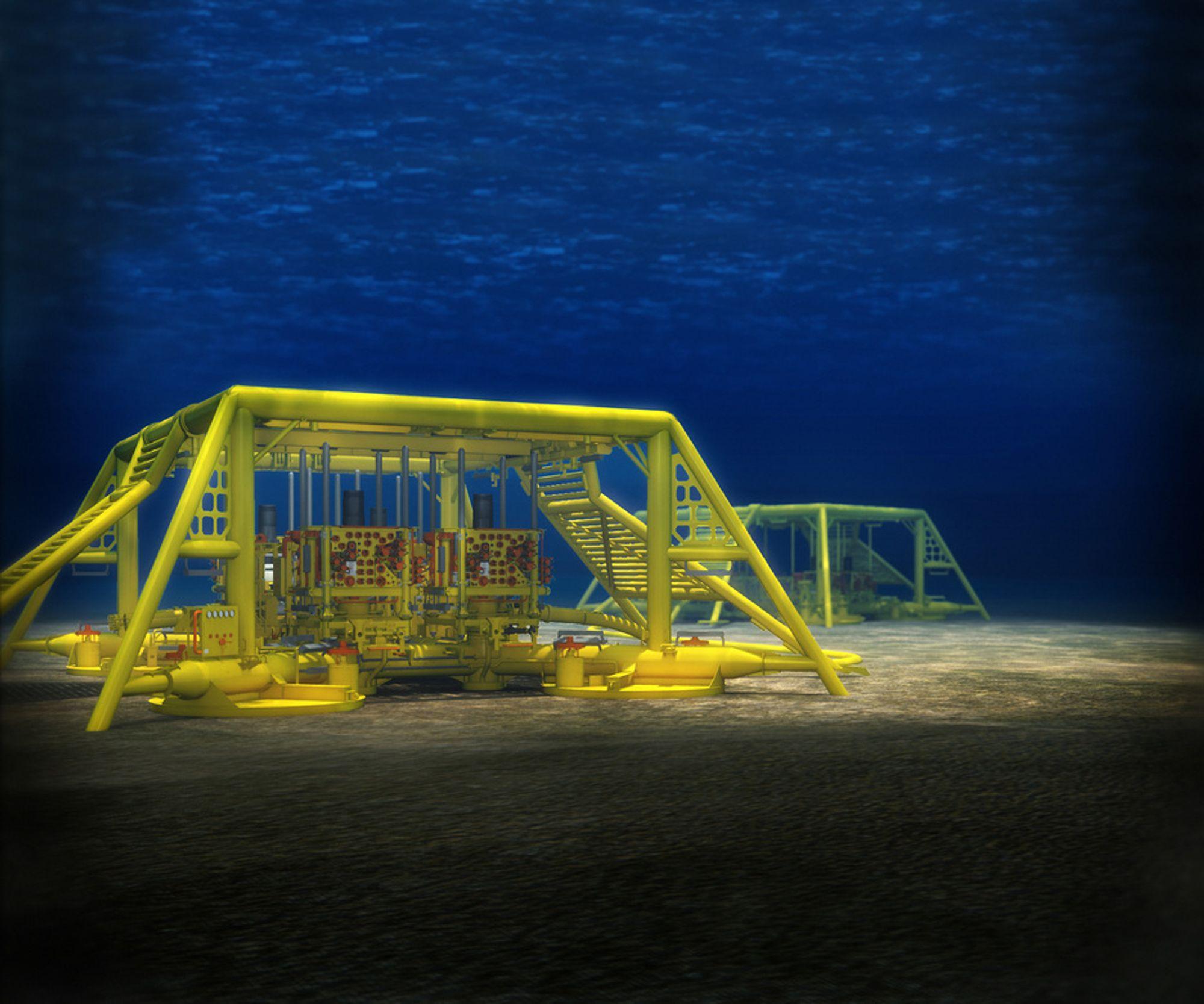 VELLYKET: Subseautstyr laget på standarder utviklet av Statoil og FMC betyr raskere utbygging.