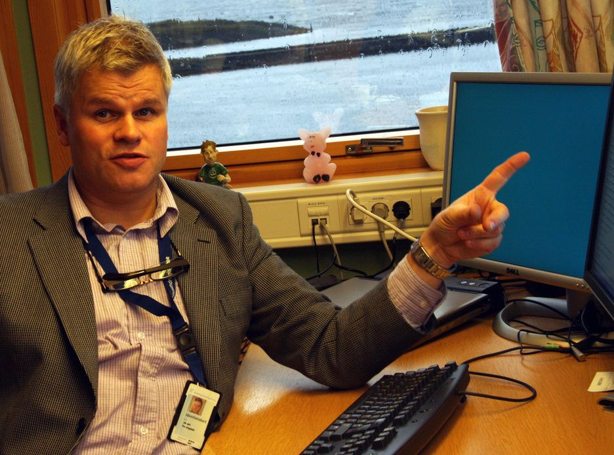 OMFATTENDE: Kommunikasjonsansvarlig Jørgen Ferkingstad sier at omlegging av nye Altinn til versjon 2 er en omfattende prosess som krever nedstenging av tjenesten.