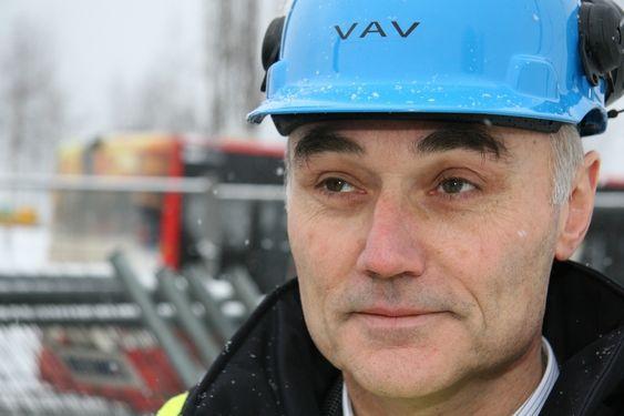 Avdelingsdirektør Sigurd Grande, vann og avløpsetaten Oslo kommune