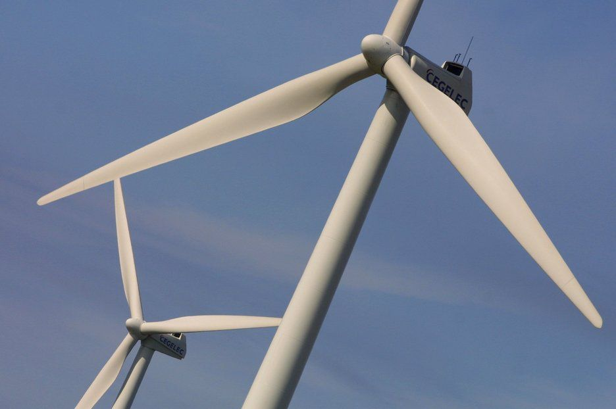 VOKSER: Den totale vindkapasiteten i USA er nå på over 35.000 MW. Det produserer nok energi til å forsyne 9,7 millioner hjem.