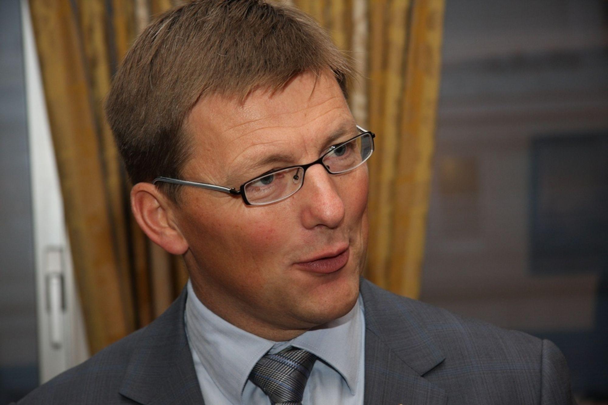 FORVENTER VEKST: -Med et godt resultat for tredje kvartal fortsetter AF Gruppen å levere stabilt gode resultater, sa konsernsjef Pål Egil Rønn da han i dag presenterte resultatene for tredje kvartal.