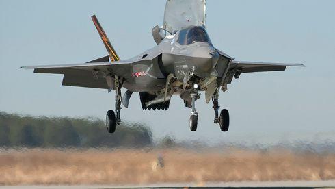 F-35B ligger tynt an
