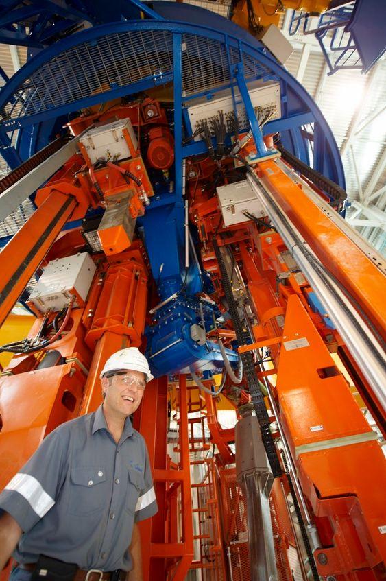 Arne Smisethjell er Hydros selskapsrepresentant mot leverandøren av PTM-maskinene