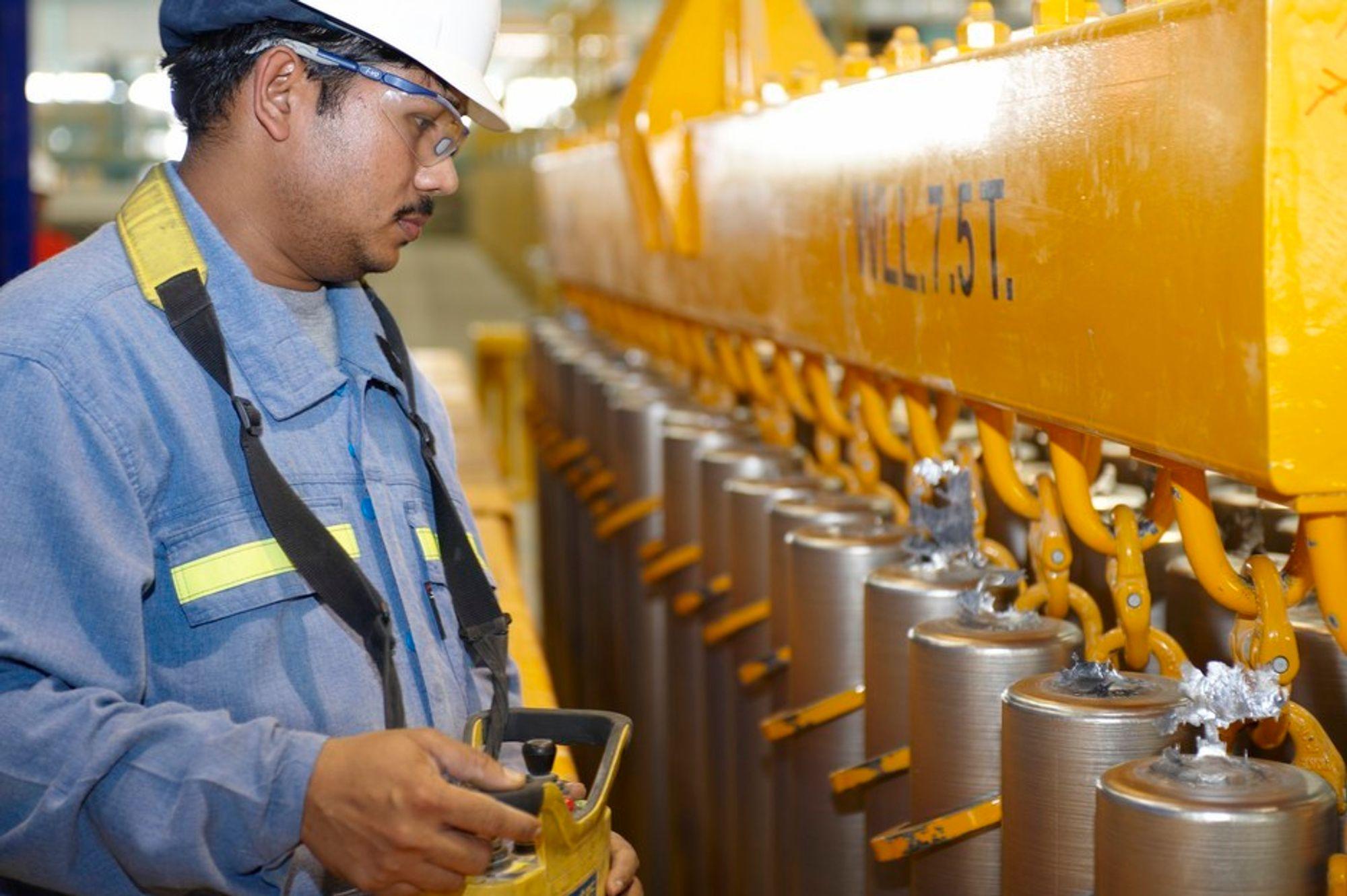 EKSTERN JORDFEIL: Det var en ekstern jordfeil ved Qatalum som førte til strømstansen i Qatar i august. Nå blir det først full produksjon i mars.