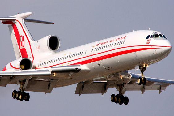 FLYET: Det polske presidentflyet og det 101 flyet i det polske flyvåpenet, et Tupolev TU-154 M, styrtet i et forsøk på å lande i Russland lørdag 10. april 2010.