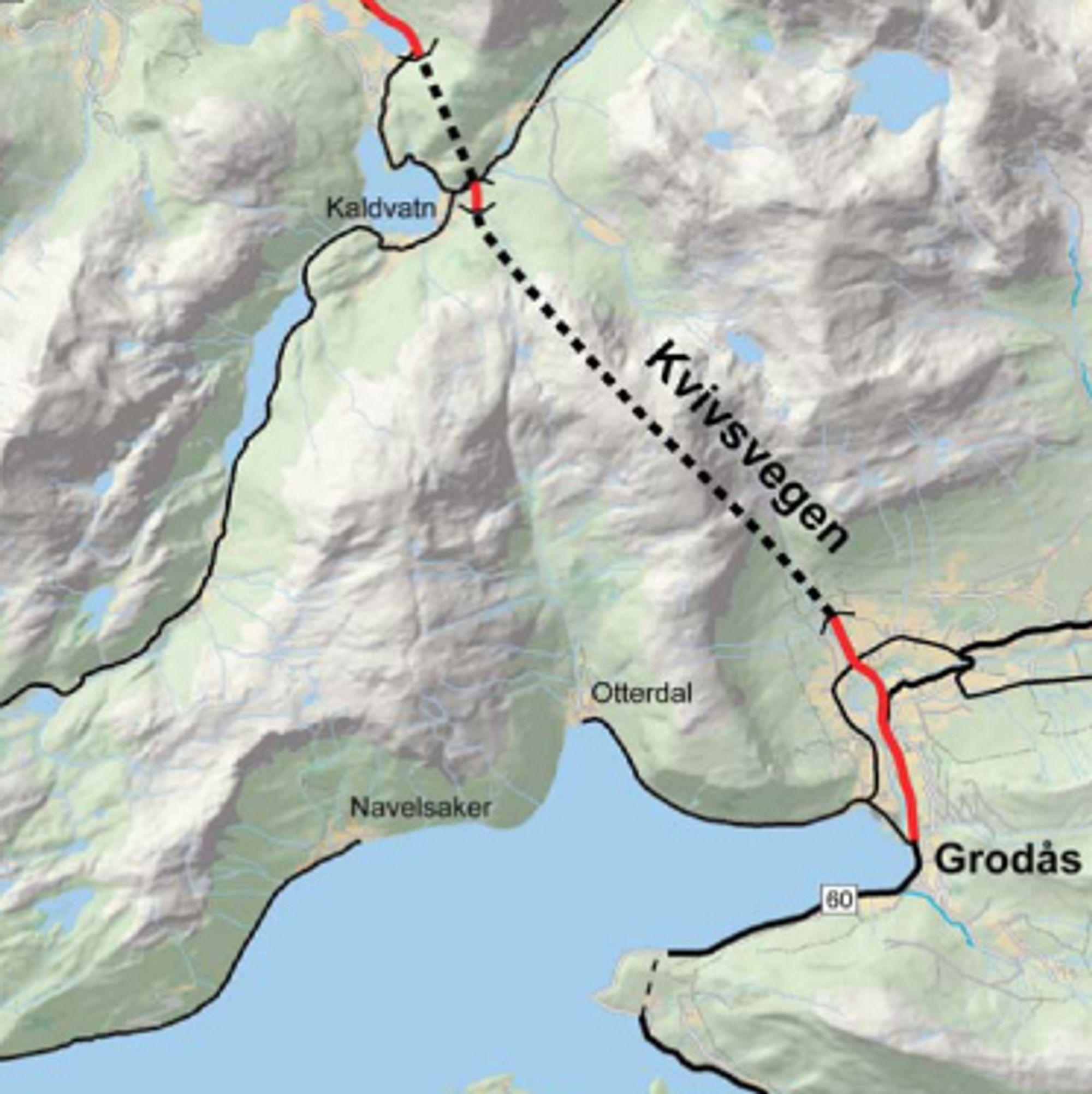 Hvis ingen klager før 15. april, blir det ECO Bygg som skal bygge brua over Storelva. Den kommer like sør for den 6,5 km lange Kvivstunnelen.