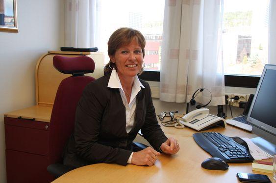 ALLSIDIG: Anne Marit Panengstuen har vært i Siemens hele sin karriere. ¿ Det er en svært allsidig bedrift og du trenger ikke å skifte arbeisgiver, selv om du skifter jobb, sier hun.