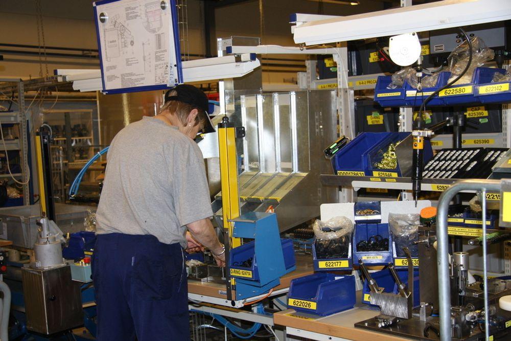 KA kritiseres for å ha tatt i bruk lockout ved en fabrikk i Ohio for å tvinge ansatte til å akseptere lavere lønn. Bildet er fra Hvittingfoss, og er kun ment som en illustrasjon.
