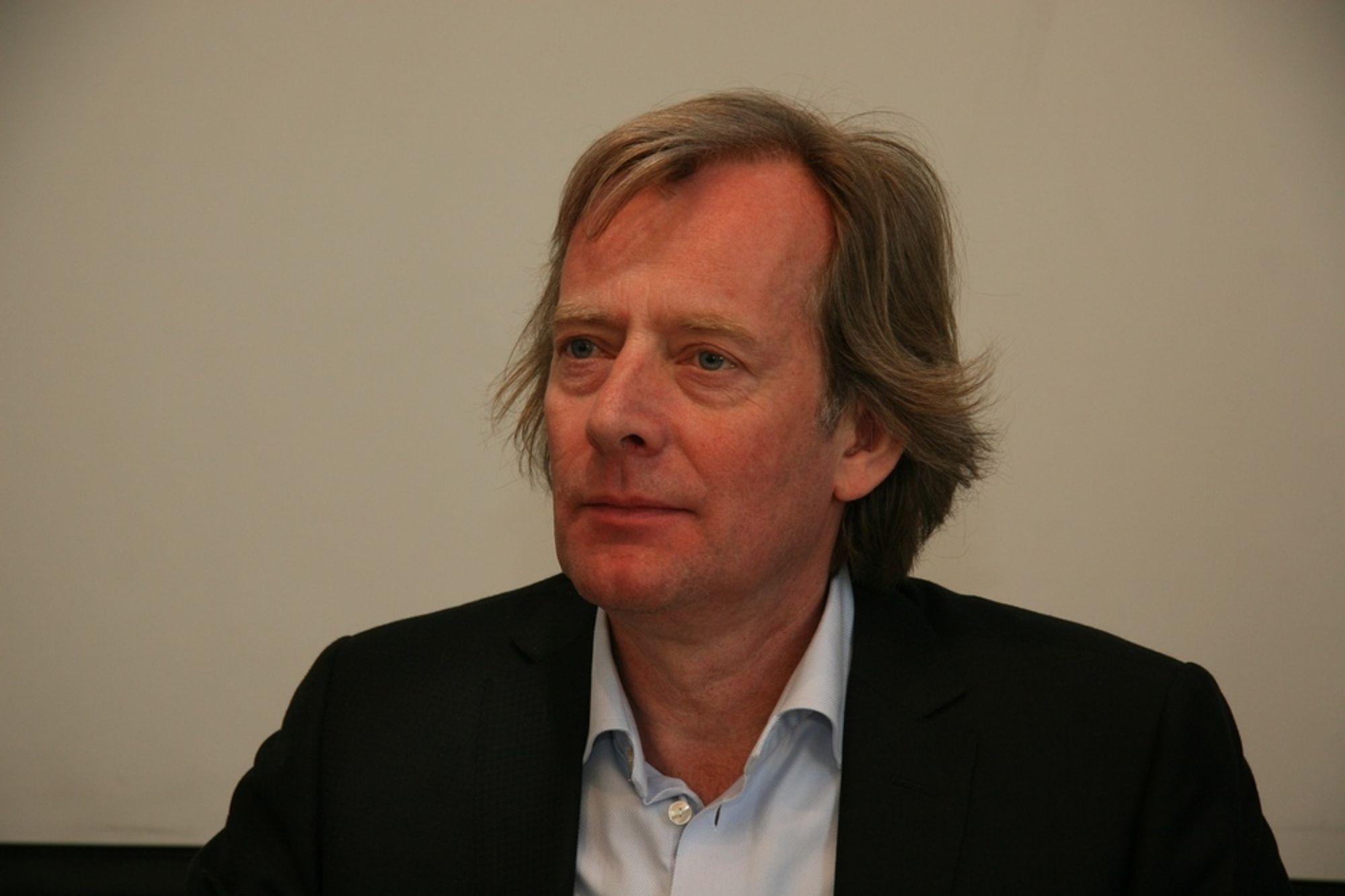 ENTUSIASTEN: Eirik Wærner i Hjellnes Consult tok initiativet til miljøforumet, og ble valgt som styrelder på stiftelsesmøtet.