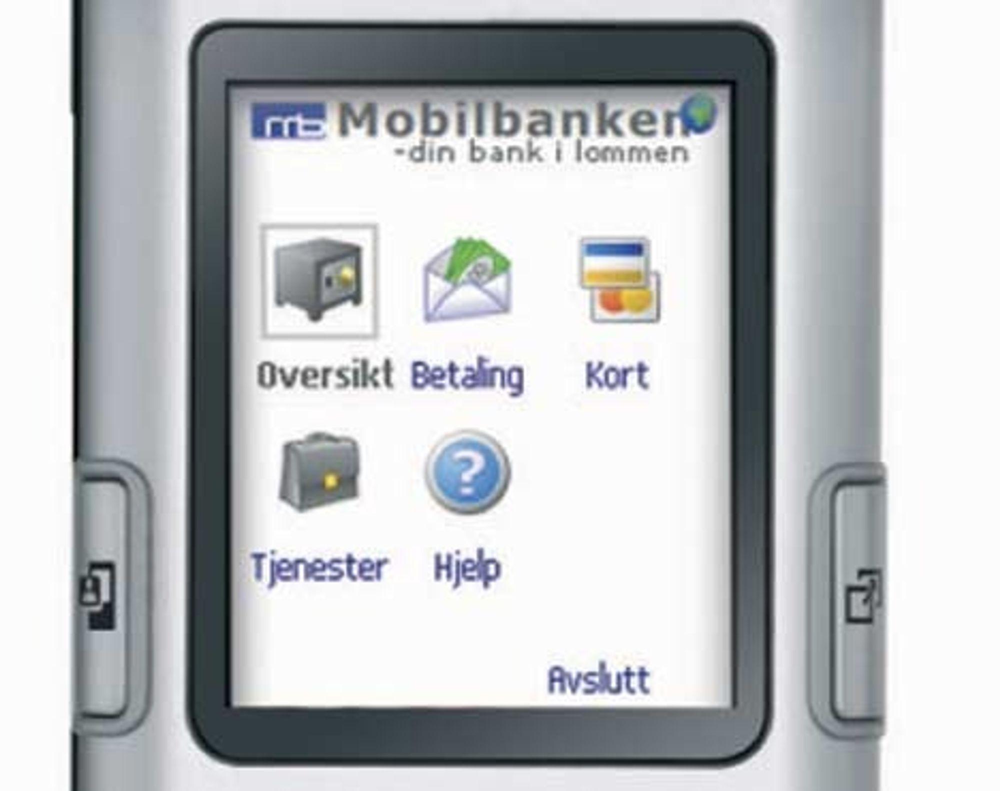 SKRYT: Mobilbanken fra Systek.