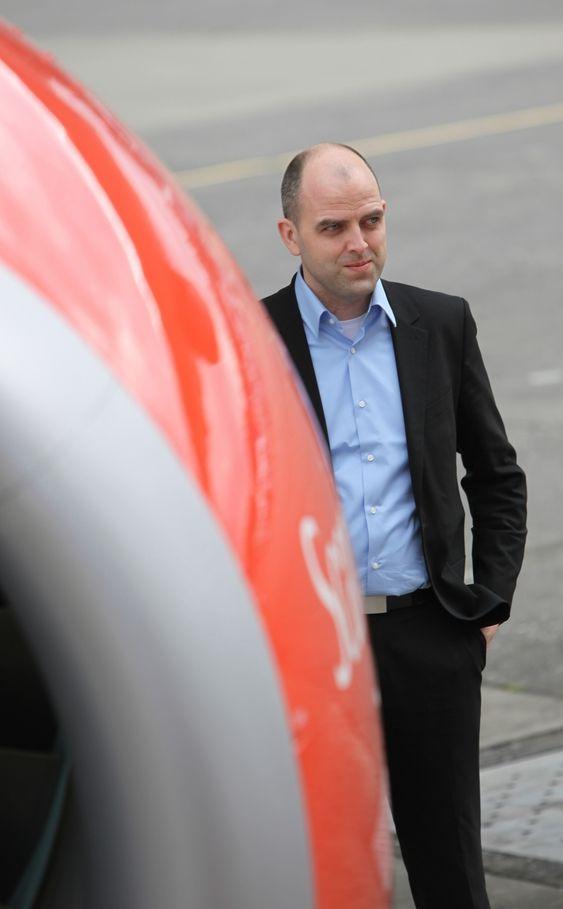 UTÅLMODIG. Miljødirektør Lars Andersen i SAS hadde håpet at Boeing og Airbus var tidligere ute med ny generasjon kort- og mellomdistansefly.