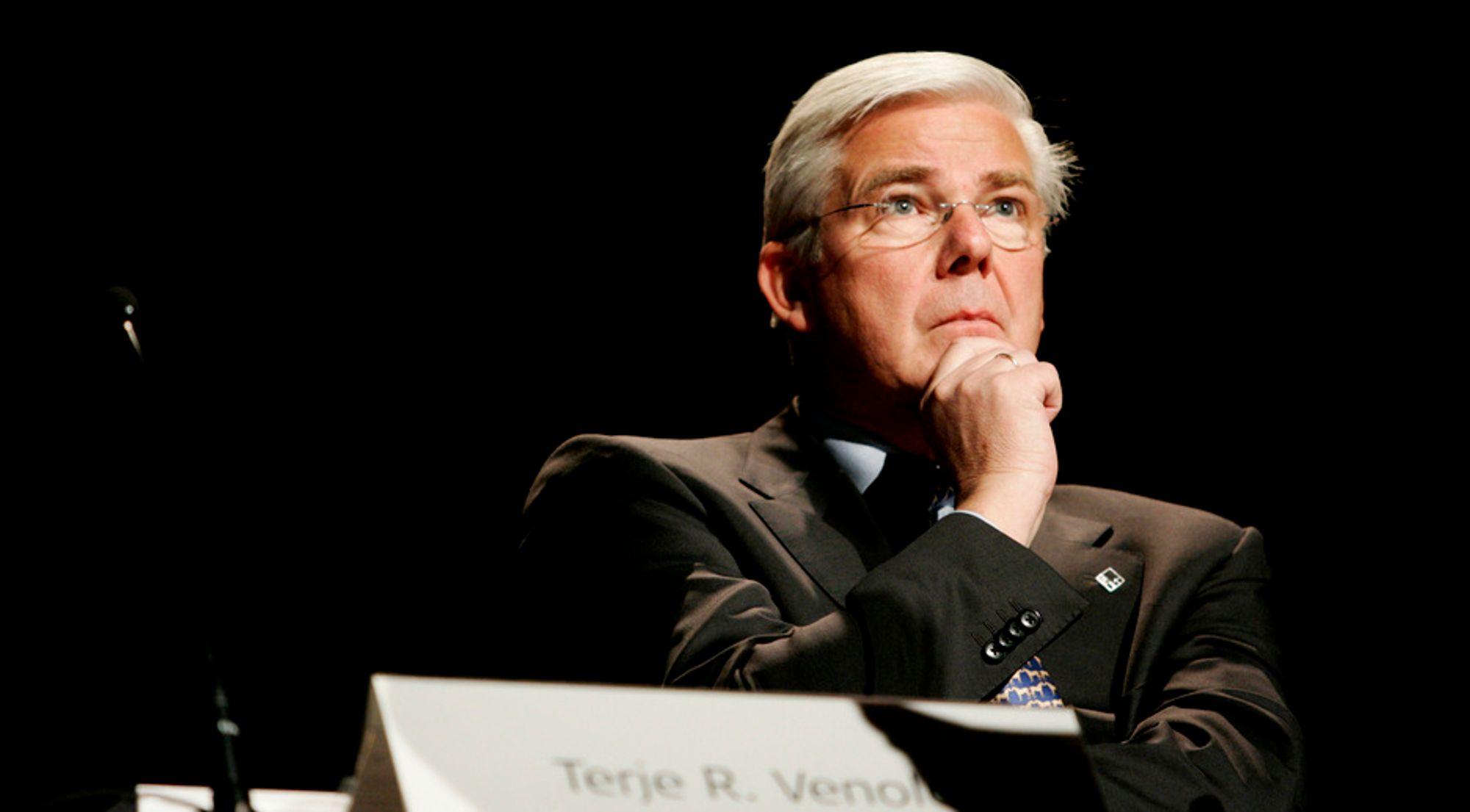 Terje R. Venold er konsernsjef i Veidekke ASA.
