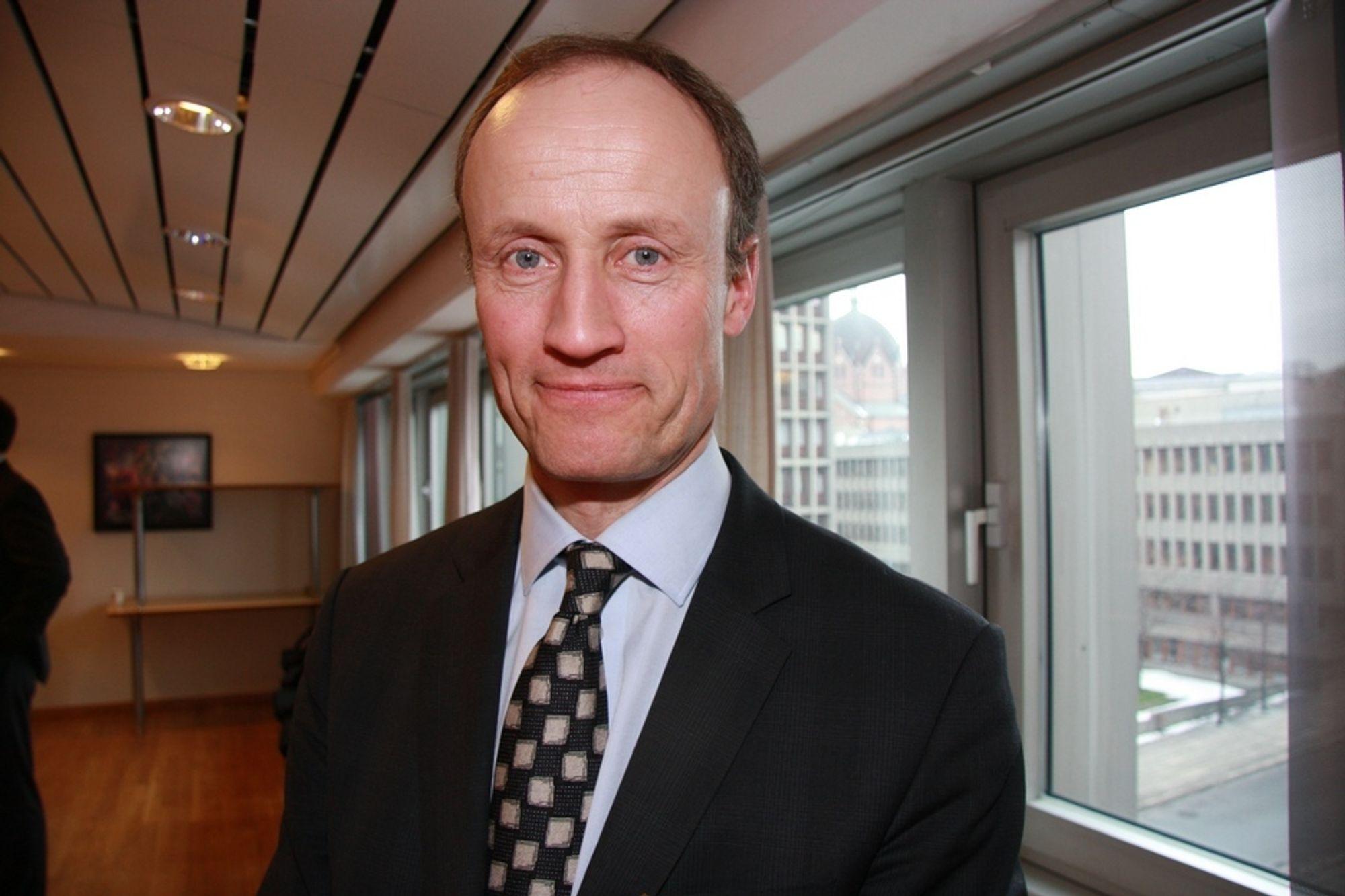Enova-direktør Nils Kristian Nakstad.